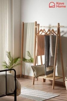 Kave Oak Clothes Rail