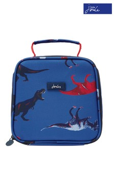 Joules Blue Munch Printed Lunch Bag
