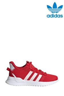 Red Trainers | Boys Leather Trainers