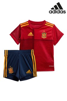 adidas Infant Red Spain Home Kit