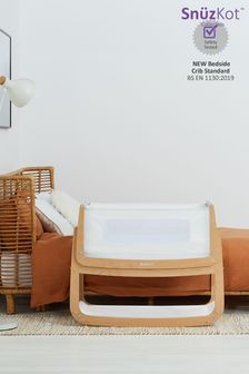 SnuzPod4 Bedside Crib Natural