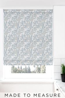 Pablo Spa Green Made To Measure Roman Blind