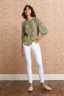 White Lift, Slim And Shape Skinny Jeans