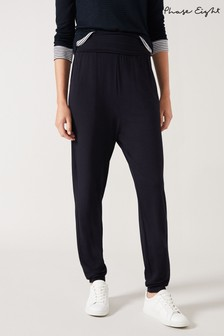 Phase Eight Blue Soft Loungewear Joggers