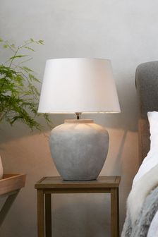 Table lamps bedside table lights next official site grey lydford table lamp aloadofball Images