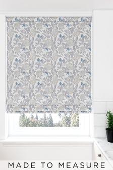 Pablo Fog Grey Made To Measure Roman Blind