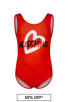 Baby Girls Red Swimsuit