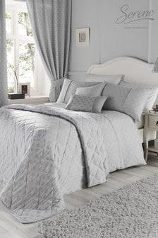 Nouveau Fan Duvet Cover and Pillowcase Set by Serene