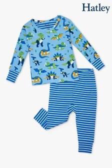 Hatley Curious Dinos Organic Cotton Baby Pyjama Set