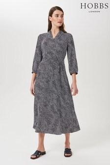 Hobbs Blue Teresa Dress