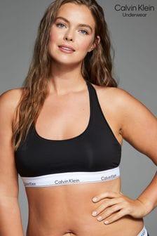 Calvin Klein Black Modern Cotton Plus Bralette