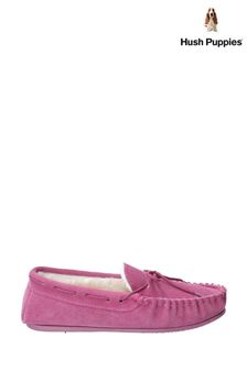 Hush Puppies Pink Allie Slippers