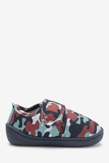 Muted Camo Slippers (Younger)