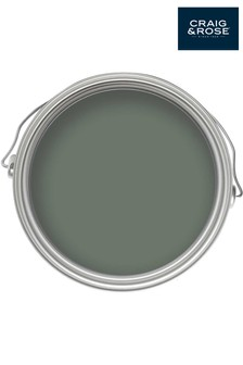Chalky Emulsion Pullman Green Paint by Craig & Rose