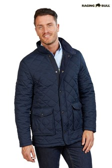 Raging Bull Blue Signature Quilted Field Jacket
