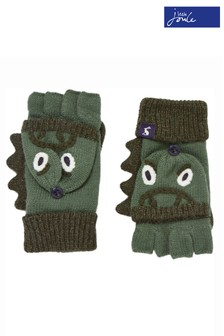 Joules Green Chummy Character Gloves