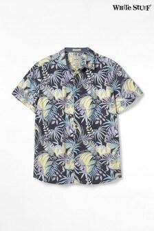 White Stuff Grey Flotta Print Shirt