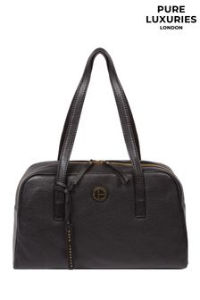 Pure Luxuries London Pitunia Leather Handbag