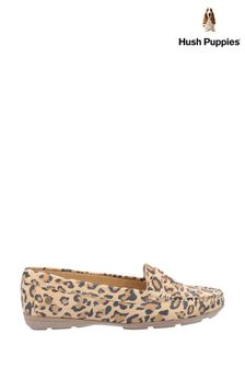 Hush Puppies Leopard Margot Slip-On Shoes