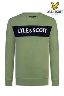 Lyle & Scott Panel Crew Sweatshirt