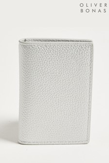 Oliver Bonas Annie Metallic Fold Over Card Holder