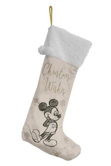 Disney™ Mickey Mouse™ Grey Christmas Stocking