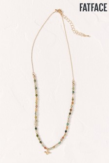 FatFace Bee Multi Bead Necklace