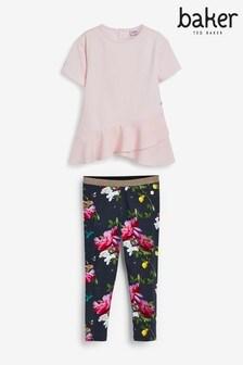 Baker by Ted Baker Girls T-Shirt And Legging Set