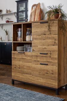 Oak Effect Bronx Cabinet