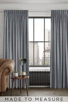 Craven Graphite Grey Made To Measure Curtains