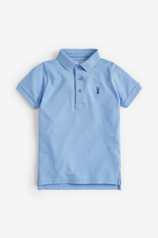 Light Blue Poloshirt (3-16yrs)