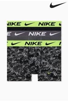Nike Black Essential Micro 3 Pack Trunks