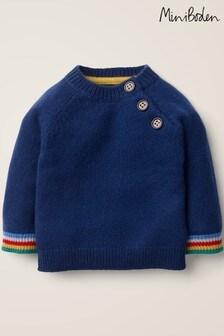 Boden Blue Cashmere Jumper