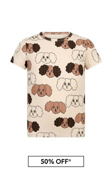 Mini Rodini Kids Cream T-Shirt