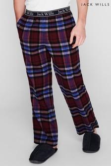 Jack Wills Red Kinnear Check Pyjamas