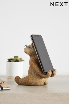 Bertie The Bear Phone Holder