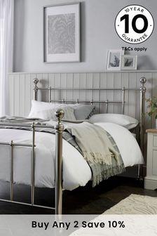 Chrome Leamington Bed