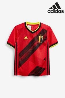 adidas Red Belgium Home Jersey