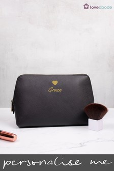 Personalised Large Cosmetic Bag by Loveabode