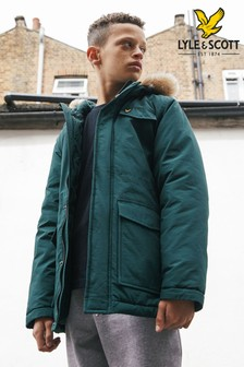 Lyle & Scott Winter Weight Micro Fleece Lined Parka