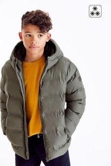 Khaki Puffer Jacket (3-16yrs)