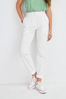 White Chino Trousers