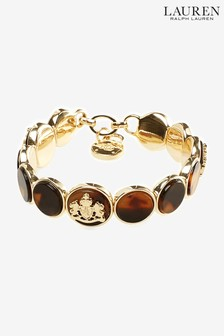 Lauren by Ralph Lauren Crest Stretch Bracelet