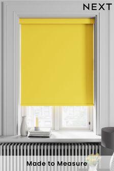 Haig Lemon Yellow Made To Measure Blackout Roller Blind
