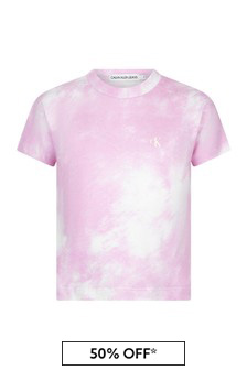 Calvin Klein Jeans Pink T-Shirt