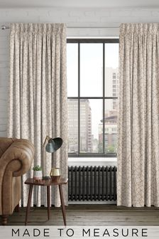 Cullen Copper Gold Made To Measure Curtains