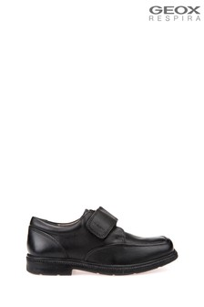 Geox Junior Boys/Unisex Federico Black Shoes