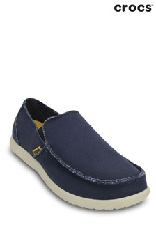 Crocs Blue Santa Cruz Loafers