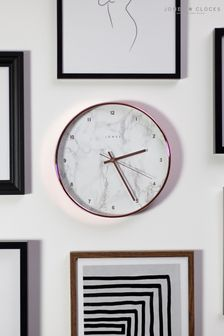 Jones Clocks Penny Copper Marble Dial Wall Clock