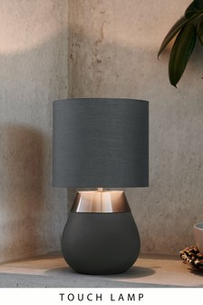 Charcoal Kit One Stage Touch Table Lamp